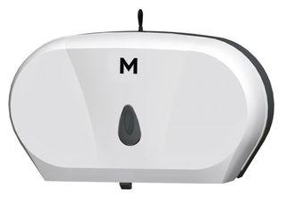 MPH Double Jumbo Dispenser - White