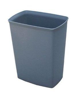 14 litre Waste Paper Bin - Grey