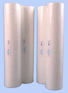 20 Jumbo 1 micron Gradient Density Polyspun Filter (NSF)