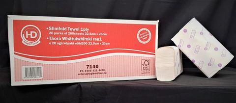 HD Premium Slimfold Towel 20pkts x 200sh
