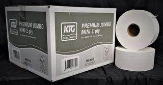 HD Premium Jumbo Mini 1ply Non-perforated