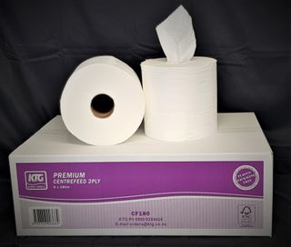 HD Centrefeed Hand Towel 2 Ply 6 x 180m