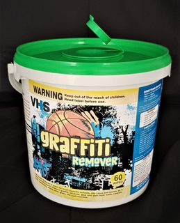 Graffiti Wipes in Bucket