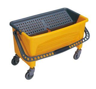 NZJ Flat Mop Bucket on Castors - Yellow