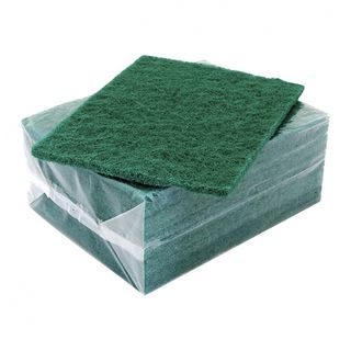 Scouring Pad Green Pack of 10
