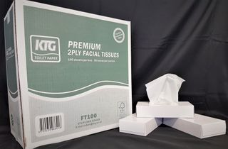 HD Premium Facial Tissues 100s x36 boxes