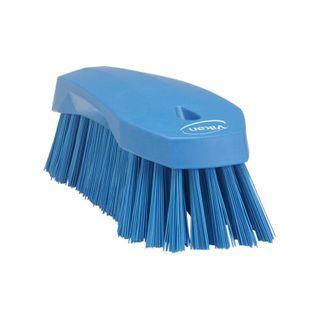 Vikan Hand Scrub Brush 200mm. Stiff Bristle, Med