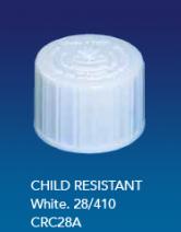 Child Resistant Cap White 28/410