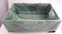 BioBag Green Vege Crate Bin Liner 102x66cm - Roll 100