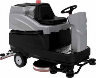 HD Ride-On Floor Scrubber with Dryer - 86cm