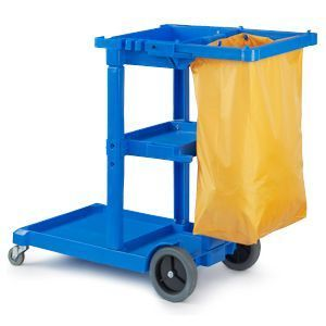 NZJ Janitor's Cleaning Trolley