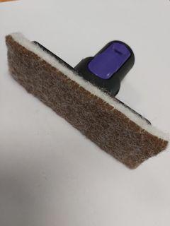 Ova8 Mini Bronze Wool Pad Holder with velcro