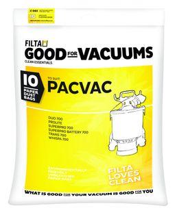 PacVac Bags Paper 10pk (C065)