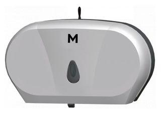 M Double Jumbo Dispenser - Silver