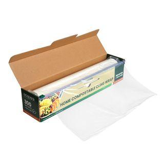 Compostable Cling Wrap Mega 300M Roll 30x45cm
