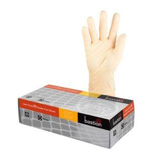 Bastion Omni Latex P/F Small Gloves Box 100