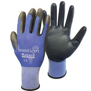 Bastion Blue Nylon Glove