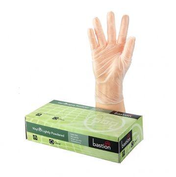 Clear Vinyl Ultra Powder Free LRG Clear - Box 100