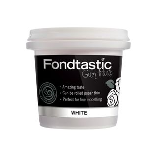 FONDTASTIC RTU GUM PASTE WHITE 8OZ