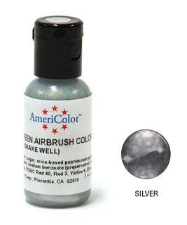 AMERICOLOR AMERIMIST SHEEN SILVER 0.65OZ