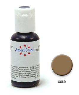 AMERICOLOR GEL PASTE GOLD 0.75OZ