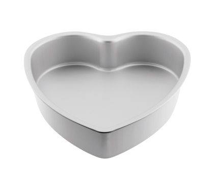 MONDO PRO HEART CAKE PAN 6IN/15X7.5CM