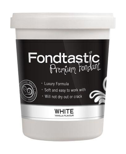 FONDTASTIC VAN FLAV FONDANT 2LB WHITE