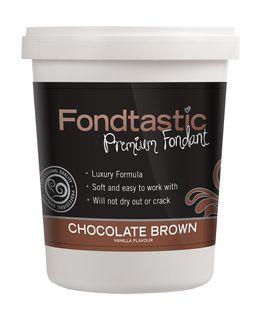 FONDTASTIC VAN FLAV FONDANT 2LB BROWN