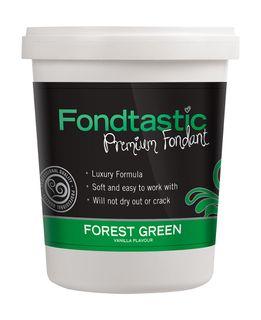 FONDTASTIC VAN FLAV FONDANT 2LB F/GREEN