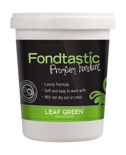 FONDTASTIC VAN FLAV FONDANT 2LB L/GREEN