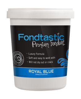 FONDTASTIC VAN FLAV FONDANT 2LB R/BLUE