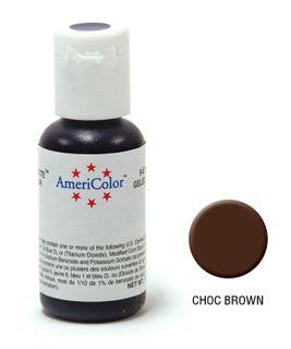 AMERICOLOR GEL PASTE CHOC BROWN 0.75OZ