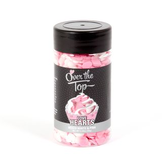 OT LOVE HEARTS - MIXED WHITE & PINK(65G)