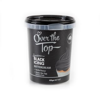 OTT BUTTERCREAM BLACK 425G