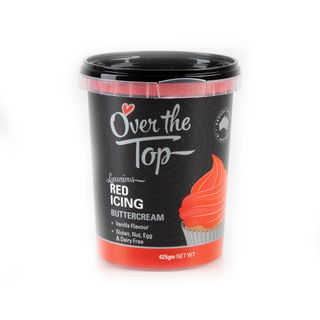 OTT BUTTERCREAM RED 425G