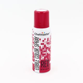 CHEFMASTER EDIBLE FOOD SPRAY RED 42GM