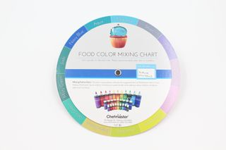 CHEFMASTER MIXING GUIDE COLOUR WHEEL