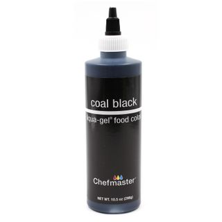 CHEFMASTER LIQUA-GEL COAL BLACK 10.5OZ