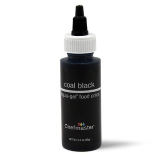 CHEFMASTER LIQUA-GEL COAL BLACK 2.3OZ