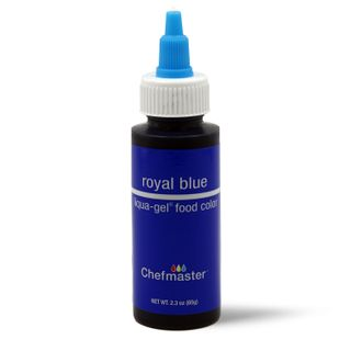 CHEFMASTER LIQUA-GEL ROYAL BLUE 2.3OZ