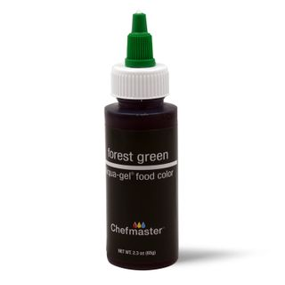 CHEFMASTER LIQUA-GEL FOREST GREEN 2.3OZ