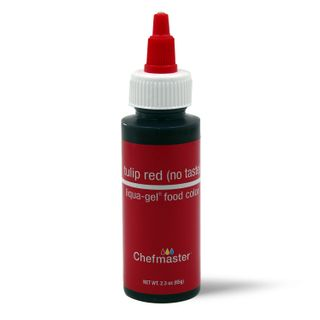 CHEFMASTER LIQUA-GEL TULIP RED 2.3OZ