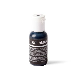 CHEFMASTER LIQUA-GEL COAL BLACK  0.7OZ
