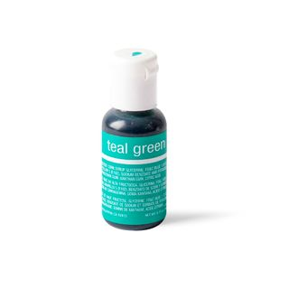 CHEFMASTER LIQUA-GEL TEAL GREEN 0.7OZ