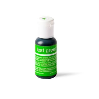 CHEFMASTER LIQUA-GEL LEAF GREEN 0.7OZ