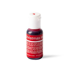 CHEFMASTER LIQUA-GEL XMAS RED 0.7OZ