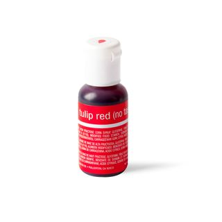 CHEFMASTER LIQUA-GEL TULIP RED 0.7OZ