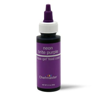 CHEFMASTER LIQUA-GEL NEON PURPLE 2.3OZ