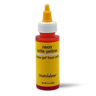 CHEFMASTER LIQUA-GEL NEON YELLOW 2.3OZ