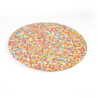 MONDO CAKE BOARD ROUND SPRINKLES 8IN/20C